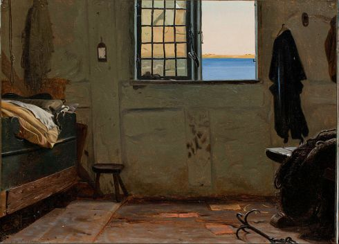 Christen_Dalsgaard_-_A_fisherman's_bedroom_-_Google_Art_Project