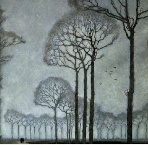 Jan mankes Row of trees