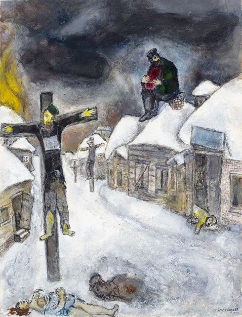 Marc-Chagall-art-the-crucified